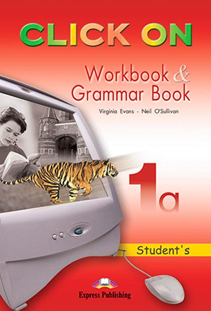CLICK ON 1A Livro de exercícios e gramática