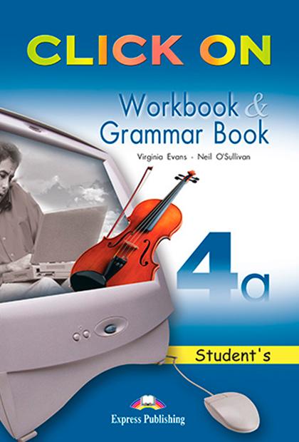 CLICK ON 4A Livro de exercícios e gramática