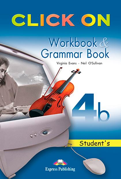 CLICK ON 4B Livro de exercícios e gramática