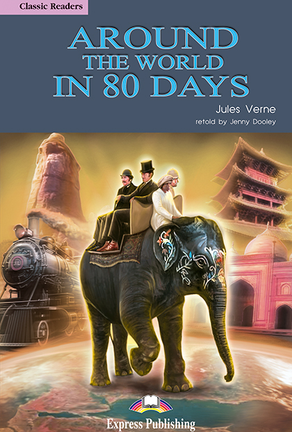 AROUND THE WORLD IN 80 DAYS Livro de leitura + CD áudio