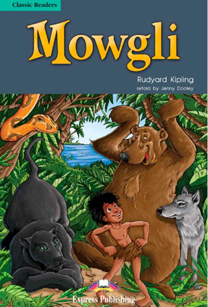 MOWGLI Livro de Leitura + CD áudio