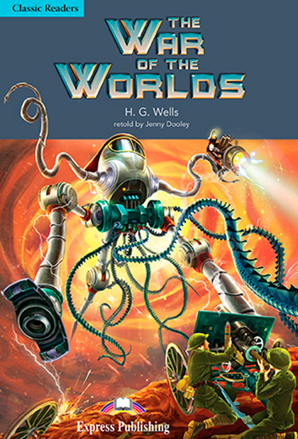 THE WAR OF THE WORLDS Livro de leitura + CD áudio