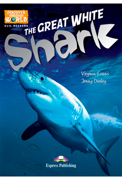 THE GREAT WHITE SHARK Livro de leitura + Digibooks