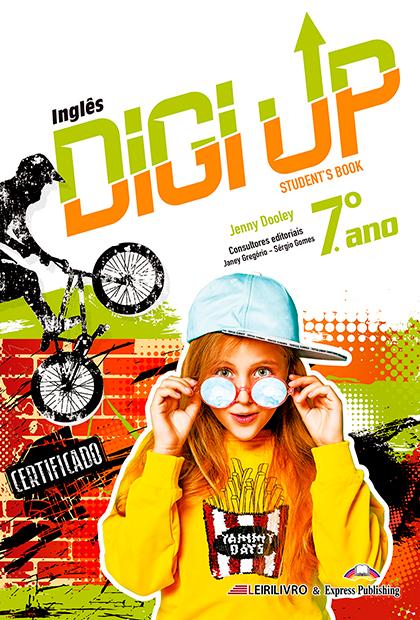 DIGI UP 7.º ANO Livro do aluno + Licença digital