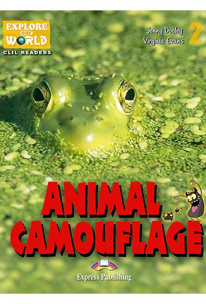 ANIMAL CAMOUFLAGE Livro de leitura + aplicação
