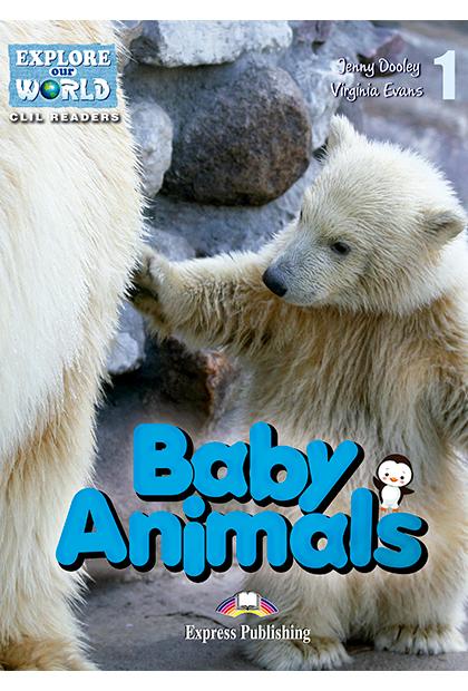 BABY ANIMALS Livro de leitura + aplicação