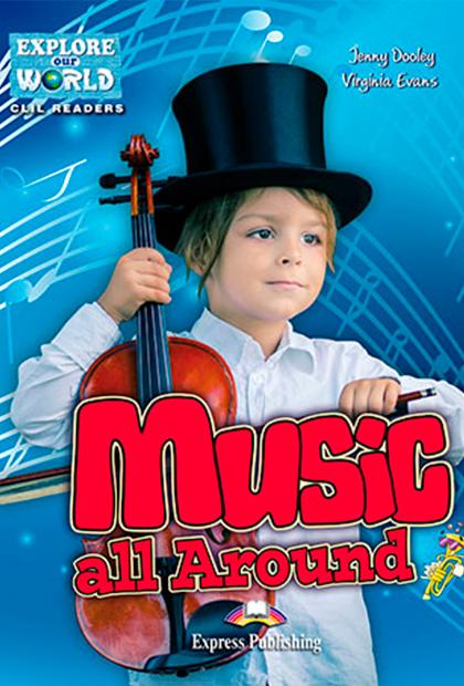 MUSIC ALL AROUND Livro de leitura + Digibooks
