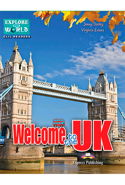 WELCOME TO THE UK Livro de leitura + Digibooks