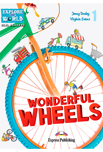 WONDERFUL WHEELS Livro de leitura + Digibooks