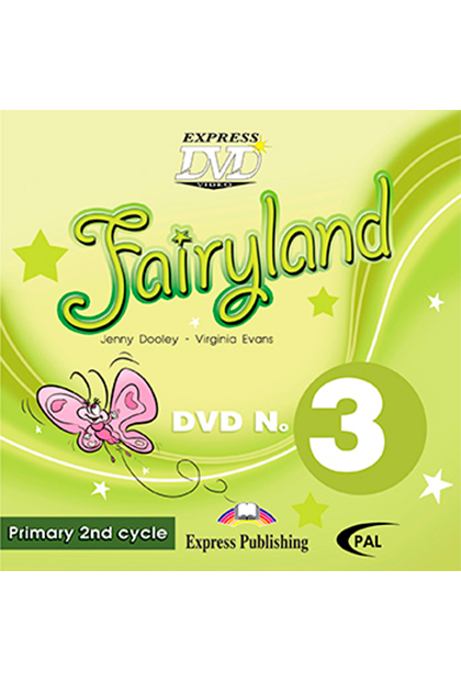 FAIRYLAND PRIMARY 3 DVD