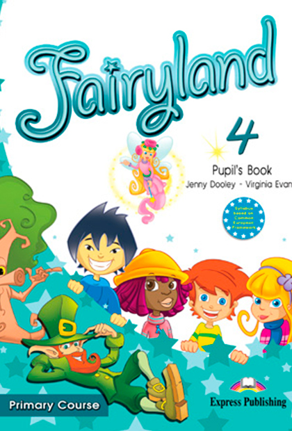 FAIRYLAND PRIMARY 4 Livro do Aluno + áudio CD + DVD
