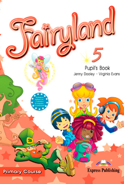 FAIRYLAND PRIMARY 5 Livro do Aluno + CD áudio + DVD