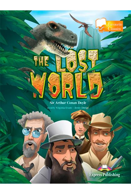THE LOST WORLD Livro de leitura + CD áudio