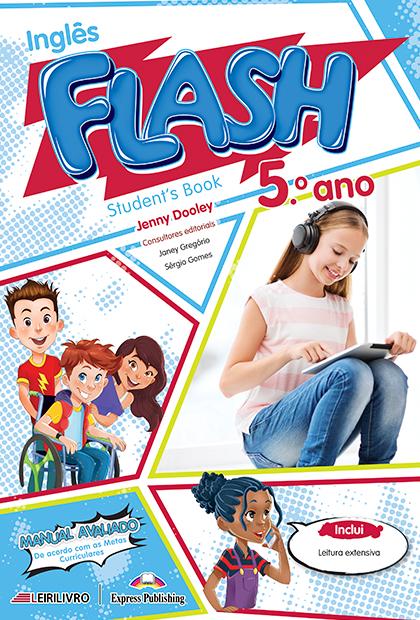 FLASH 5.º ANO Livro do aluno + Licença digital + Digibooks