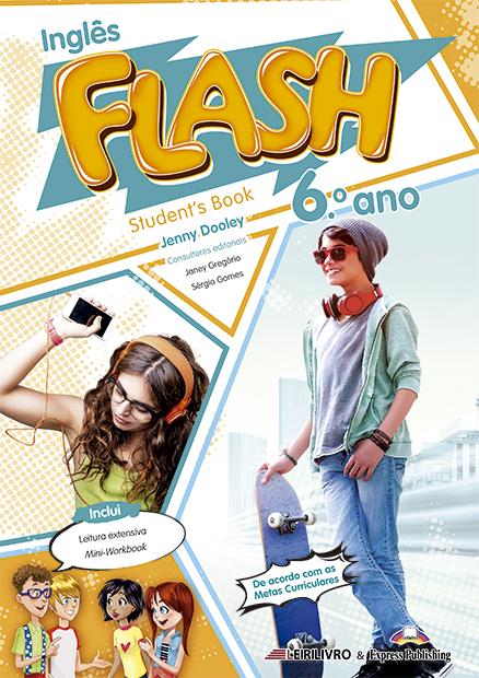 FLASH 6.º ANO Livro do aluno + Licença digital + Digibooks