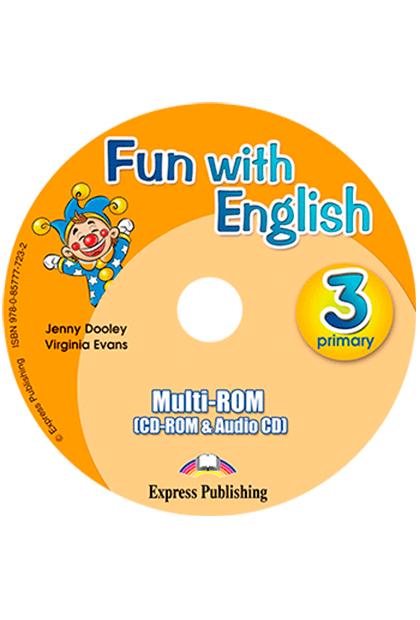 FUN WITH ENGLISH 3 Multi-ROM