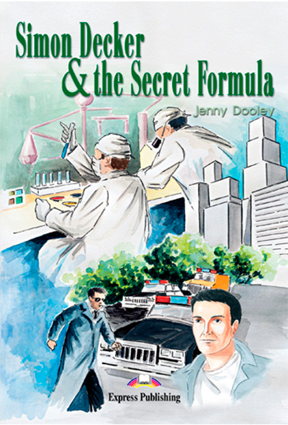 SIMON DECKER & THE SECRET FORMULA Livro de leitura