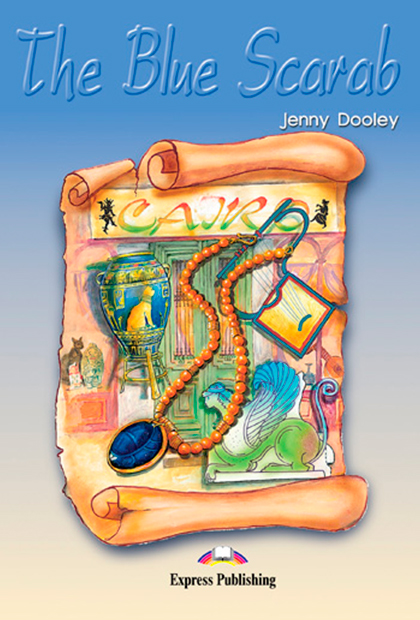 THE BLUE SCARAB Livro de leitura + atividades + CD áudio
