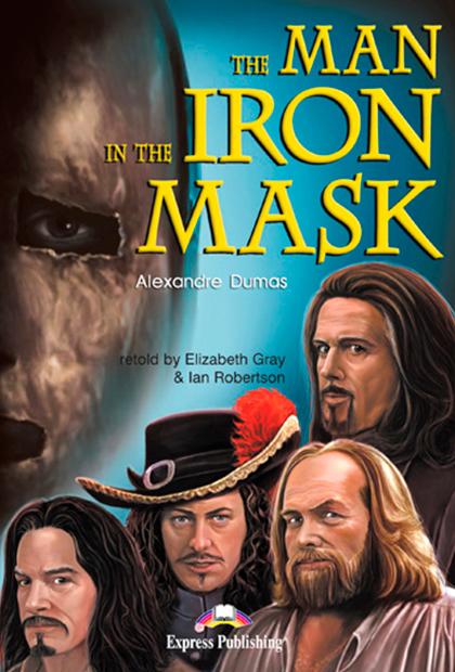 THE MAN IN THE IRON MASK Livro de leitura + atividades + CD áudio