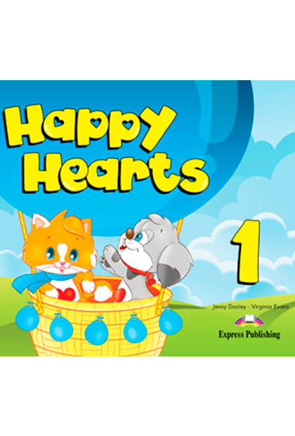 HAPPY HEARTS 1 Livro do aluno + multi-ROM
