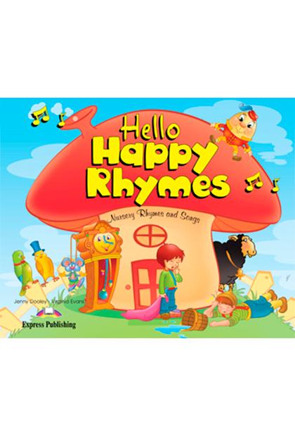 HELLO HAPPY RHYMES Livro de leitura + CD áudio + DVD