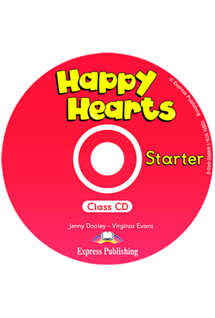 HAPPY HEARTS STARTER CD áudio