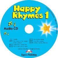 HAPPY RHYMES 1 CD áudio