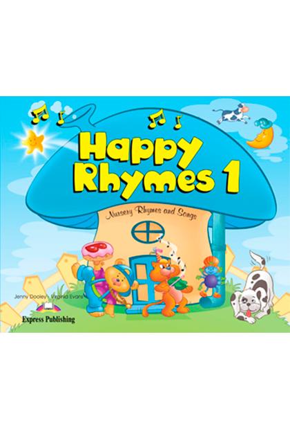 HAPPY RHYMES 1 Livro de leitura + CD áudio + DVD