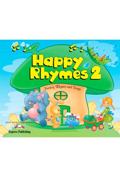 HAPPY RHYMES 2 Livro de leitura + CD áudio + DVD