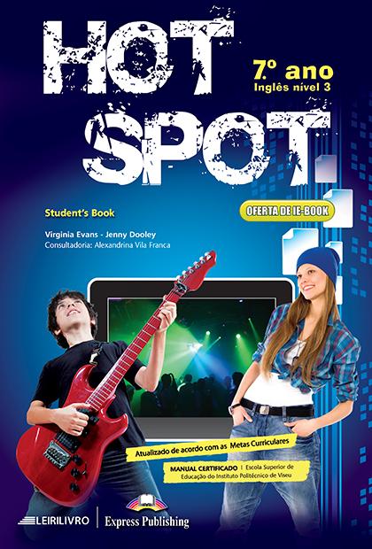 HOT SPOT 7.º ANO Livro do aluno + Licença digital + Digibooks