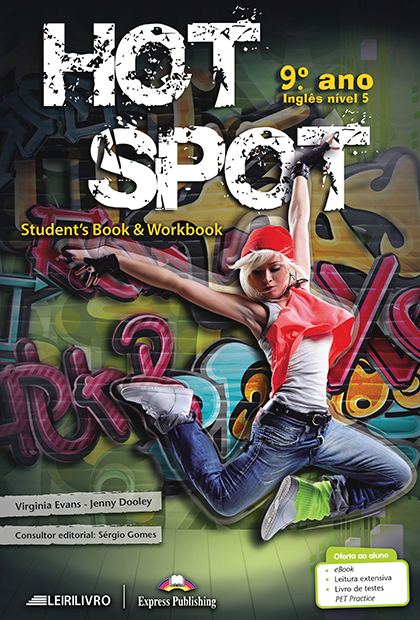 HOT SPOT 9.º ANO Livro do aluno + Licença digital + Digibooks