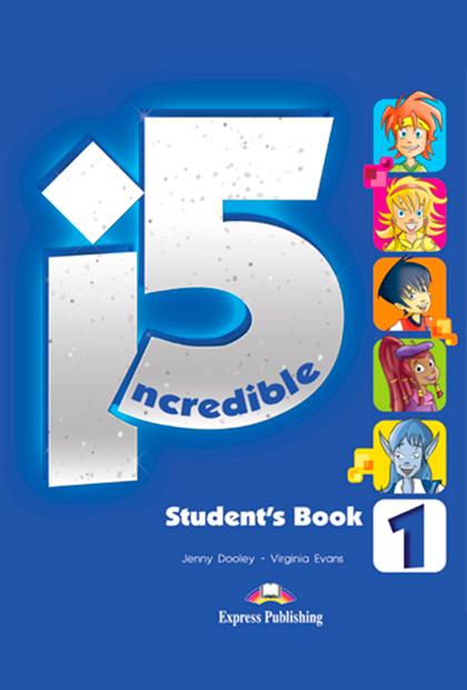 INCREDIBLE 5 1 Livro do aluno + eBook