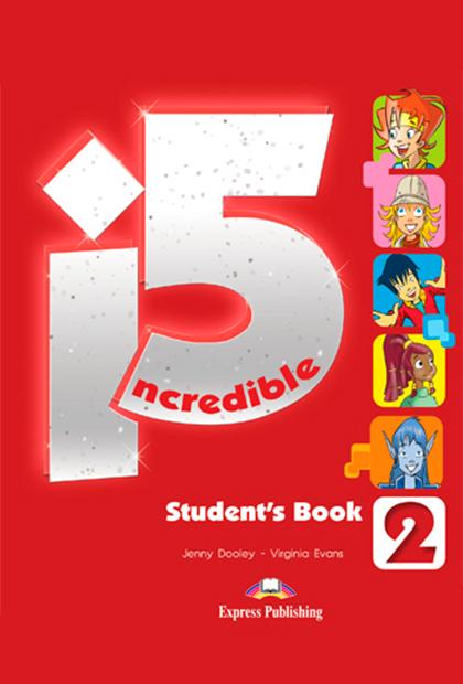 INCREDIBLE 5 2 Livro do aluno + ebook