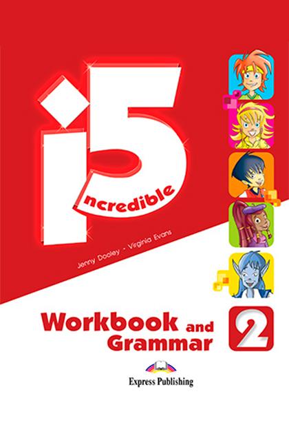 INCREDIBLE 5 2 Livro de Exercícios e Gramática + Digibooks