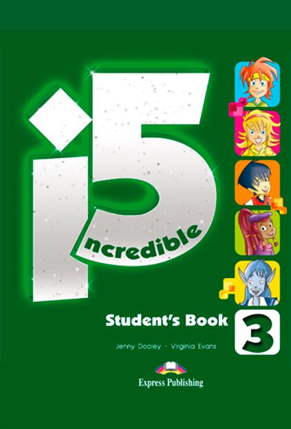 INCREDIBLE 5 3 Livro do aluno + ebook