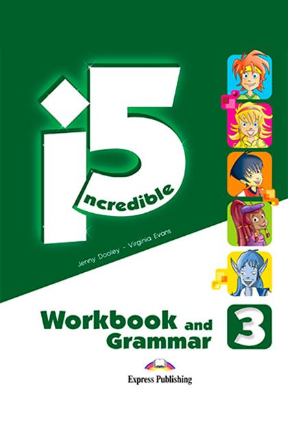 INCREDIBLE 5 3 Livro de Exercícios e Gramática + Digibooks