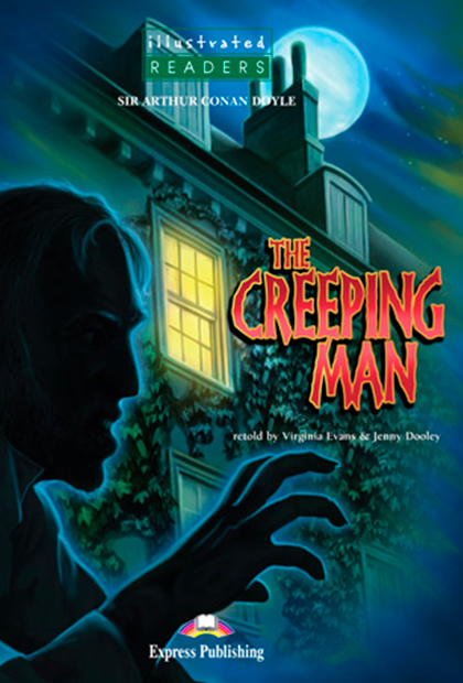 THE CREEPING MAN Livro de leitura + CD áudio