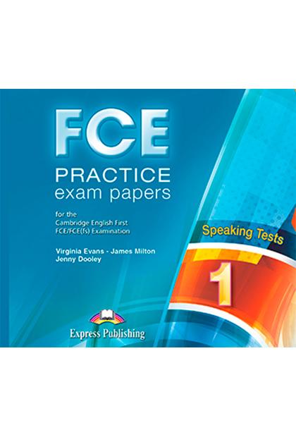 FCE PRACT.EXAM PAPERS 1 SPEAKING CD áudio (2)
