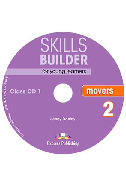 SKILLS BUILDER MOVERS 2 CD áudio (2)
