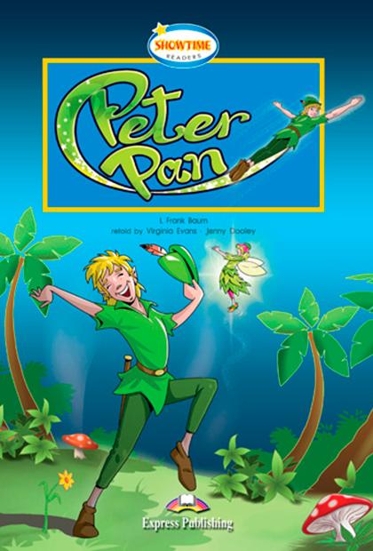 PETER PAN Livro de Leitura + CD áudio + DVD + Aplicação