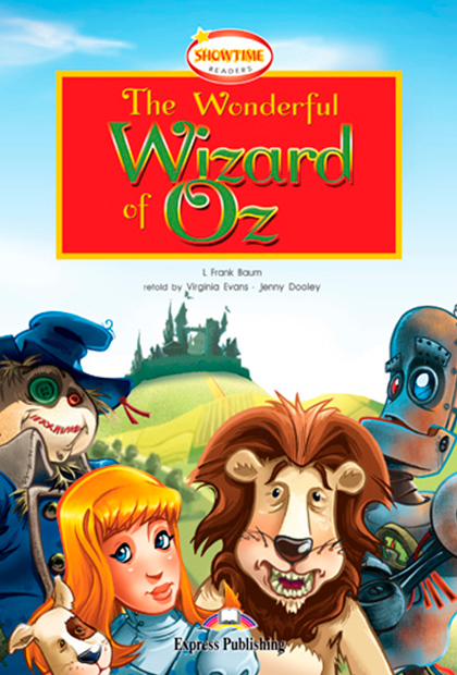 THE WONDERFUL WIZARD OF OZ Livro de leitura + CD áudio + DVD