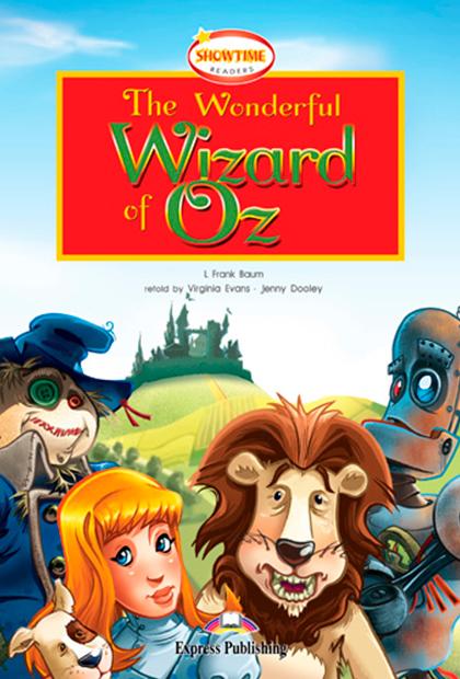 THE WONDERFUL WIZARD OF OZ Livro de leitura + CD áudio + DVD