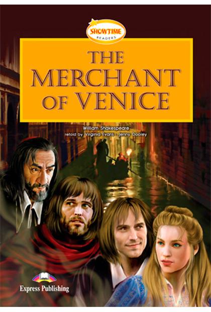 THE MERCHANT OF VENICE Livro de leitura + CD áudio + DVD + Aplicação