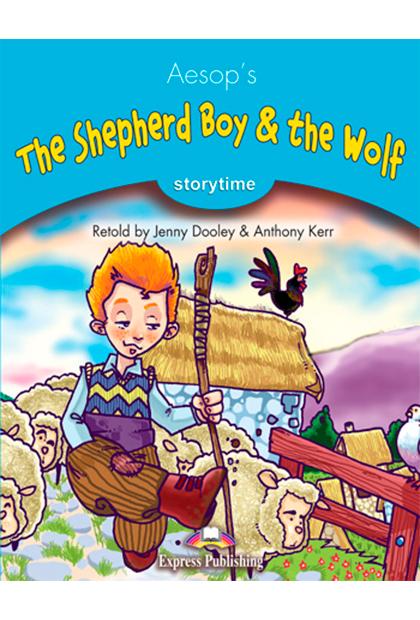 THE SHEPHERD BOY & WOLF Livro de leitura + aplicação