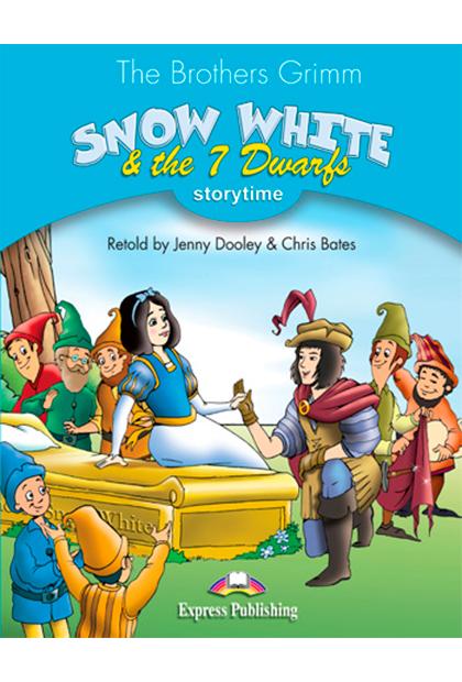 SNOW WHITE & 7 DWARFS Livro de leitura + aplicação