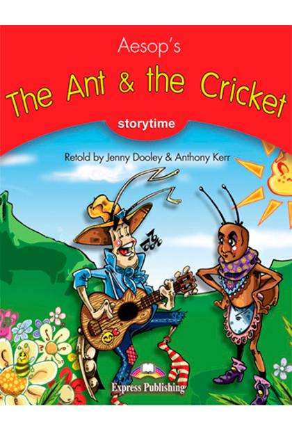 THE ANT & THE CRICKET Livro de leitura + aplicação
