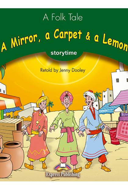 A MIRROR, A CARPET & A LEMON Livro de leitura + aplicação