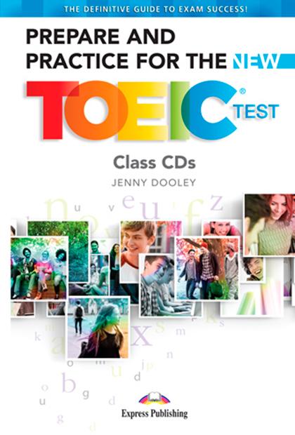 PREPARE & PRACTICE FOR THE TOEIC CD áudio (7) - EDIÇÃO 2019