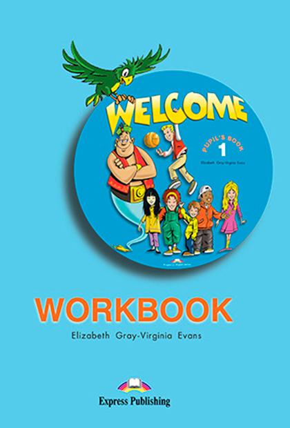 WELCOME 1 Livro de exercícios