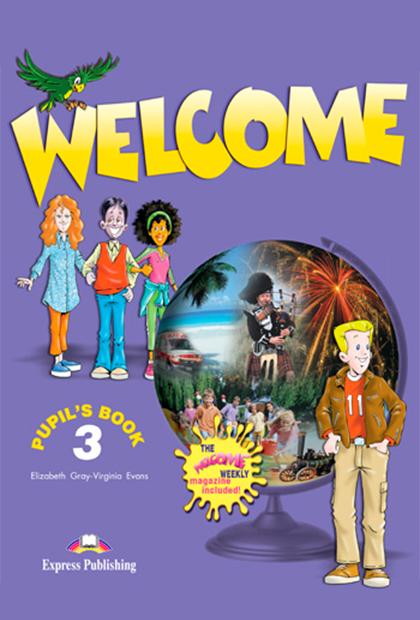 WELCOME 3 Livro do aluno + CD áudio